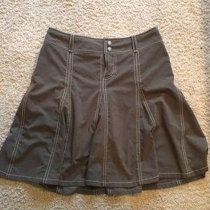 Athleta- Dark Khaki skort -size 4